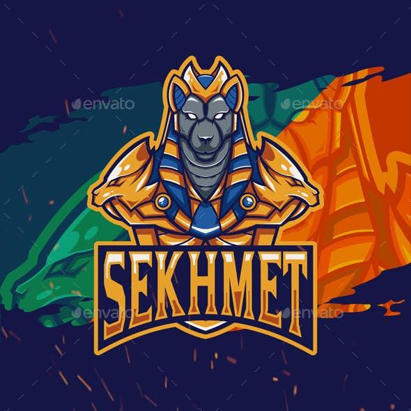 Sekhmet Mascot