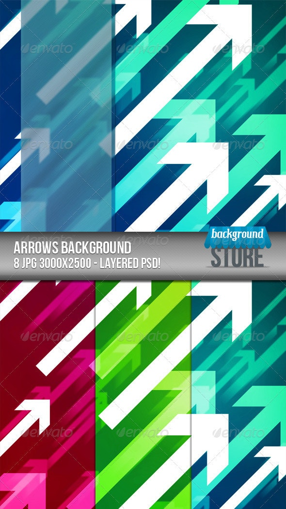 Arrows Background - Tech / Futuristic Backgrounds