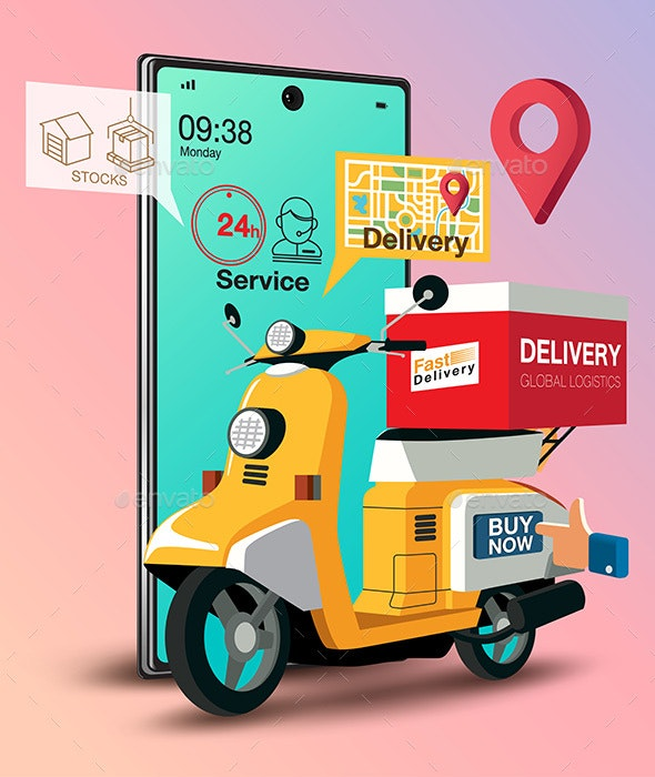 Food Delivery - Services Commercial / Shopping