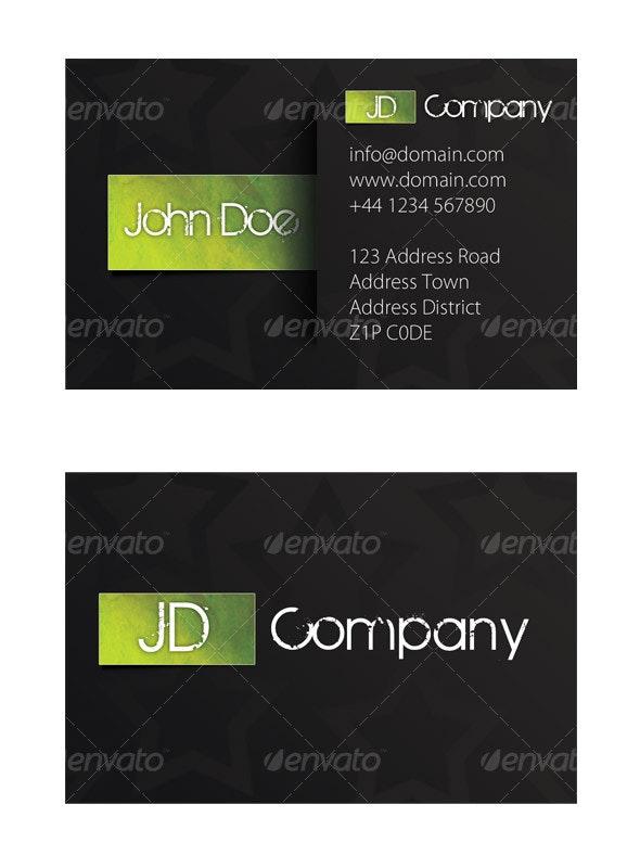Zesty - Grunge Business Cards