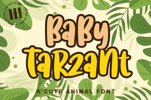 Baby Tarzant - Hand-writing Script