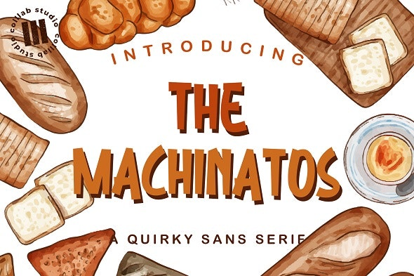 The Machinatos - Hand-writing Script