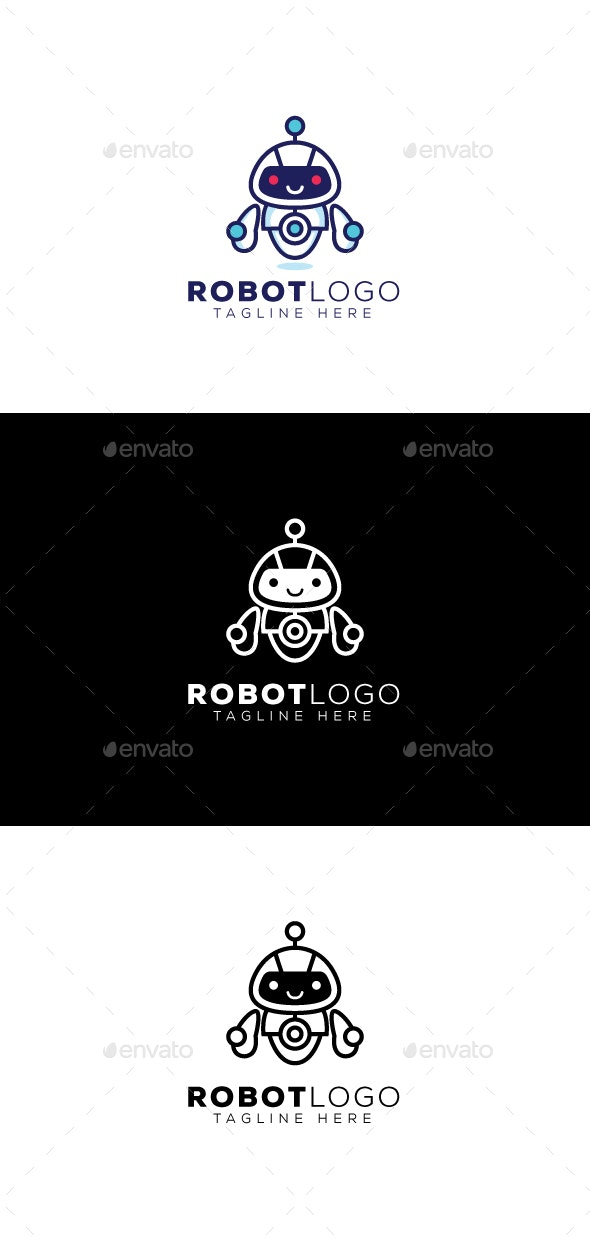 Robot Logo - Objects Logo Templates