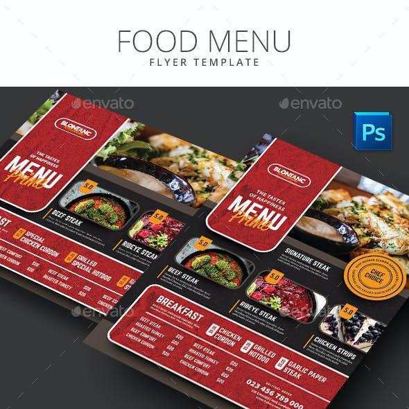 Food Menu 6