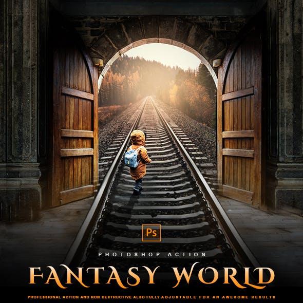 Fantasy World - Photoshop Effect