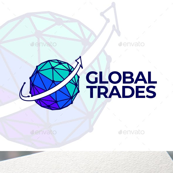 Global Trades Logo Templates