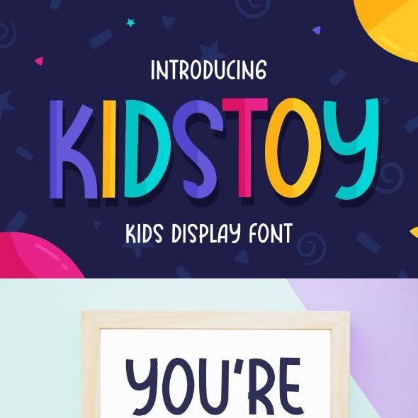 Kidstoy - Kids Display Font