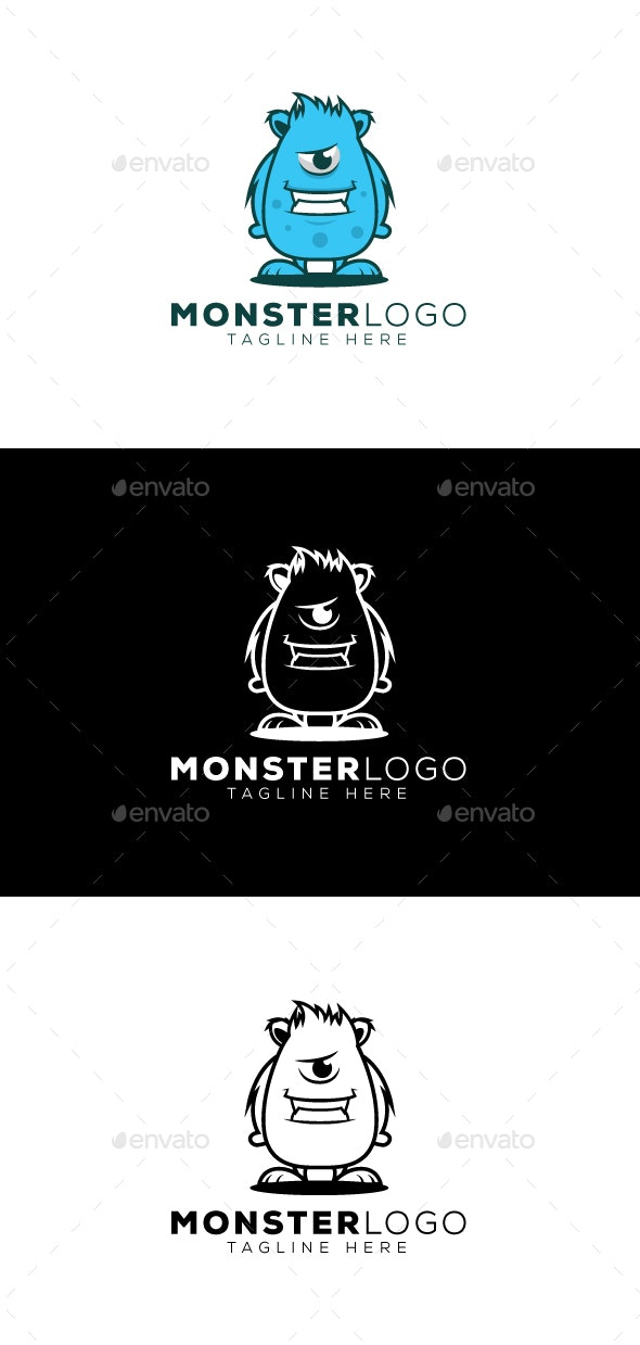 Monster Logo - Objects Logo Templates