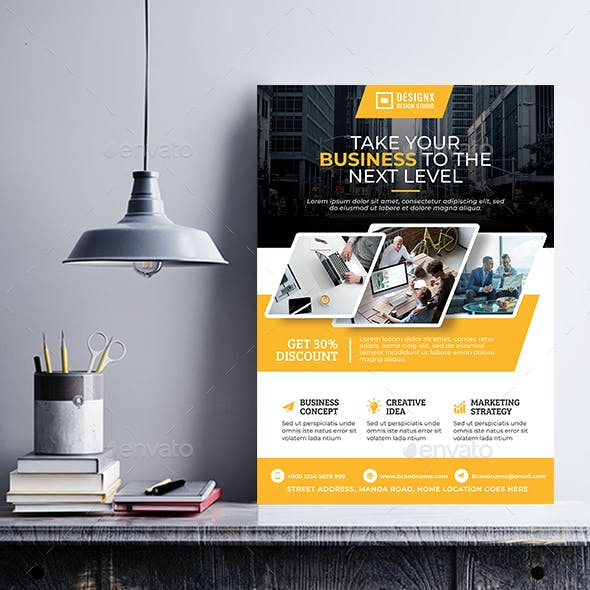 Business Poster Template V60