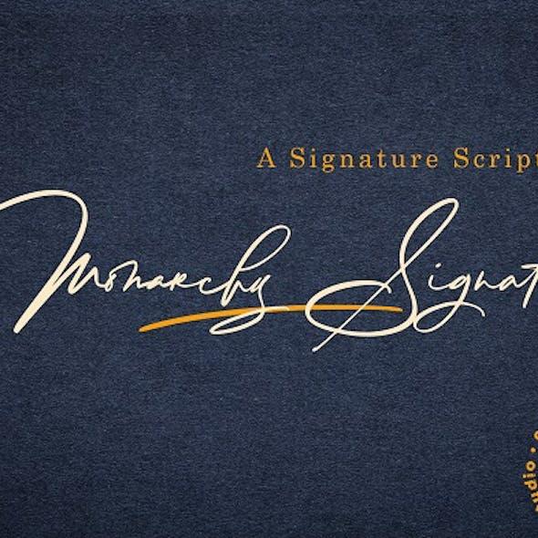 Monarchy Signature