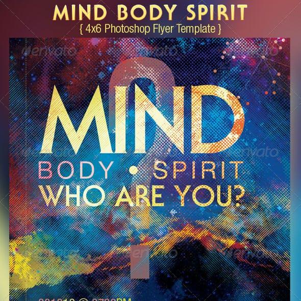 Mind Body Spirit Church Flyer Template