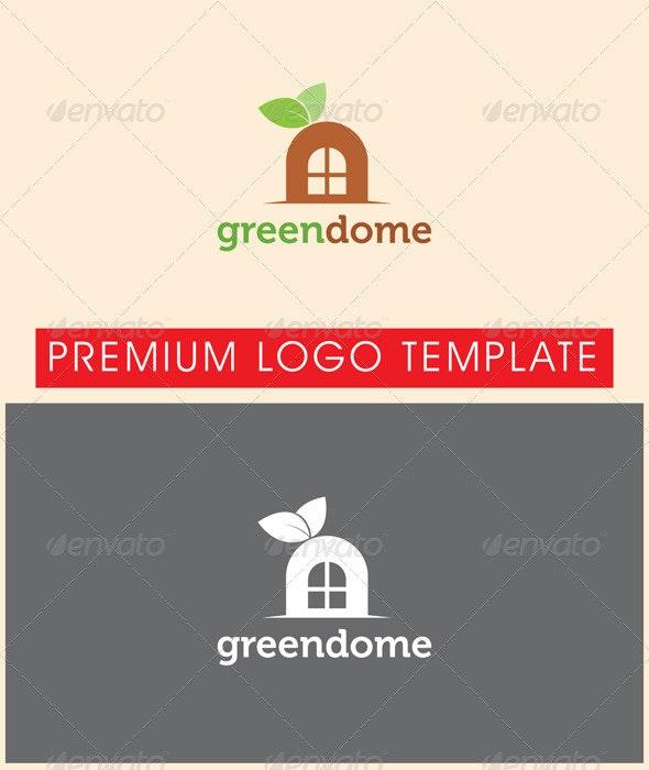 Green Dome Logo - Nature Logo Templates