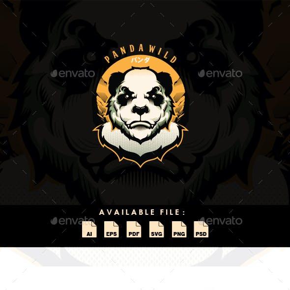 Panda Wild T-shirt Design