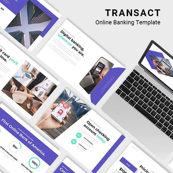 TRANSACT Online Banking Keynote Template