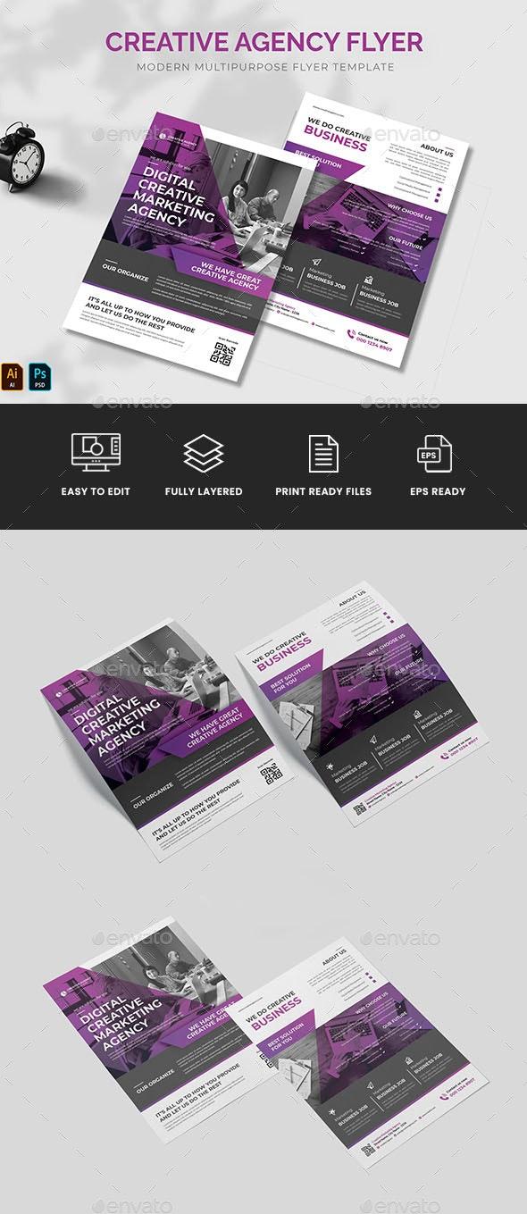 Creative Agency Flyer - Corporate Flyers