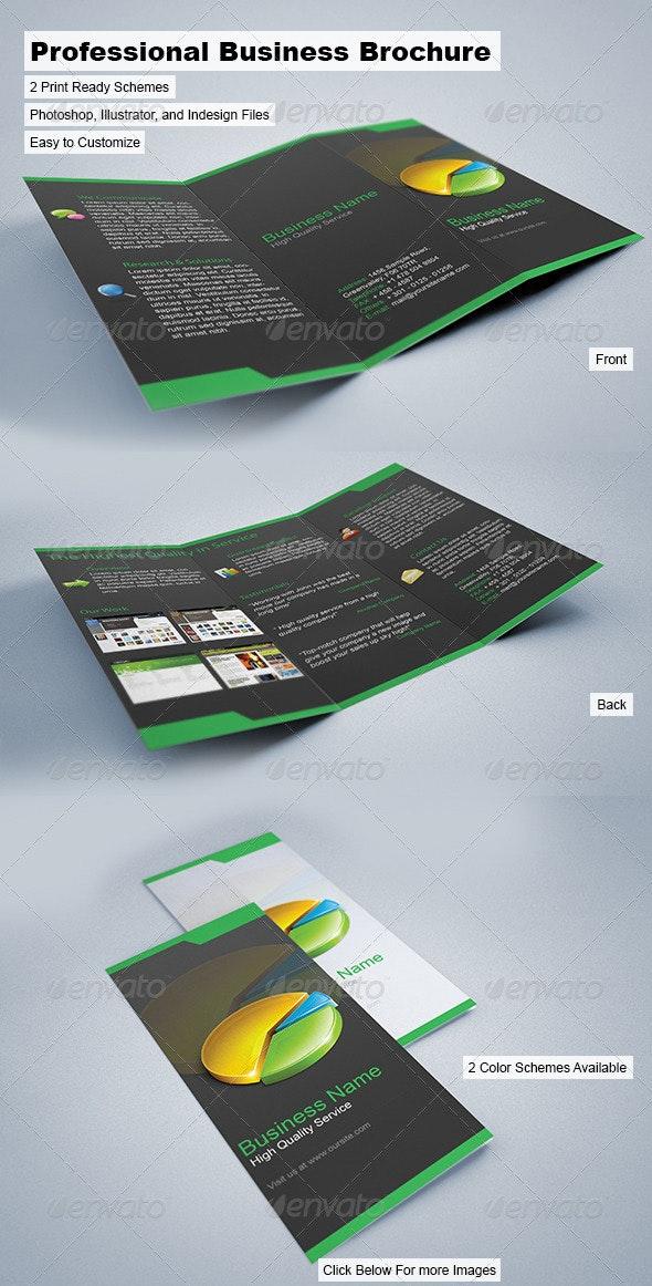 Professional Business Brochure - Corporate Brochures