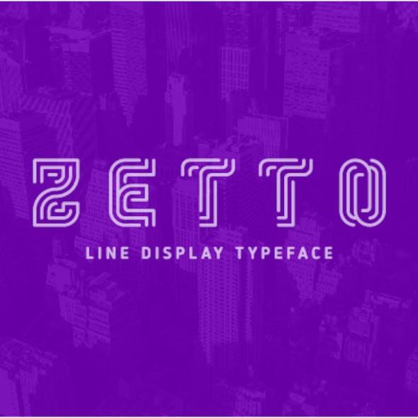 Zetto Font