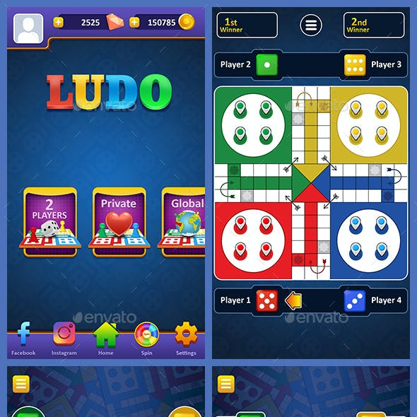Ludo Game Assets