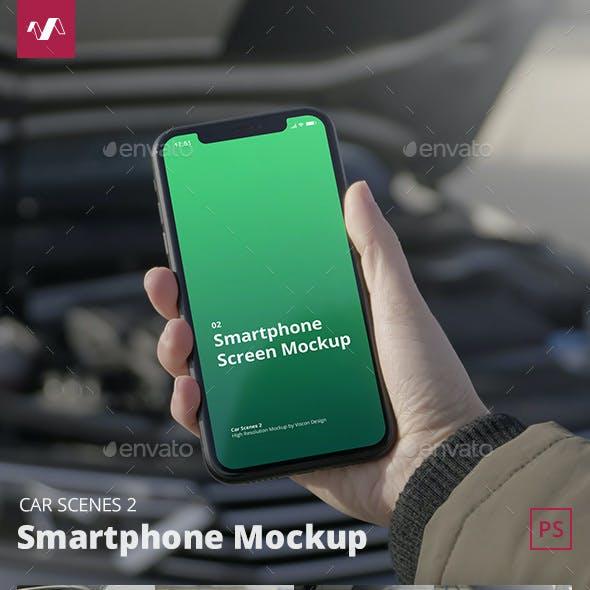 Phone Mockup Car Scenes 2