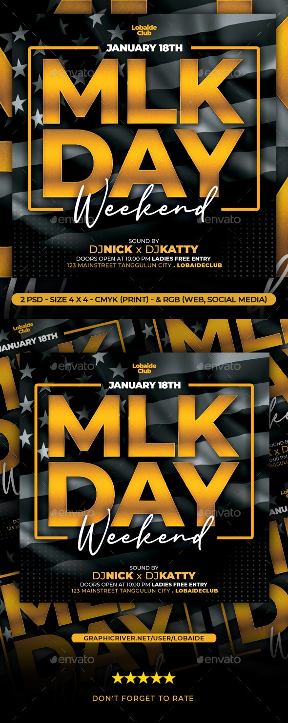 MLK Weekend Flyer