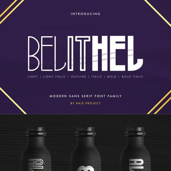 Belithel Sans Serif Font