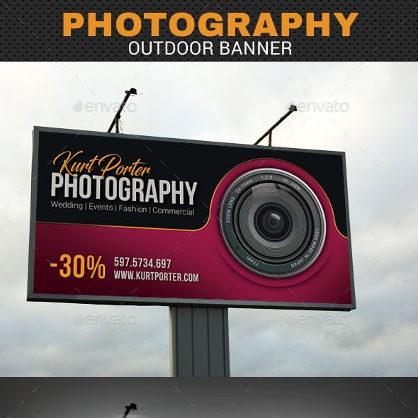 Photography Outdoor Banner 02