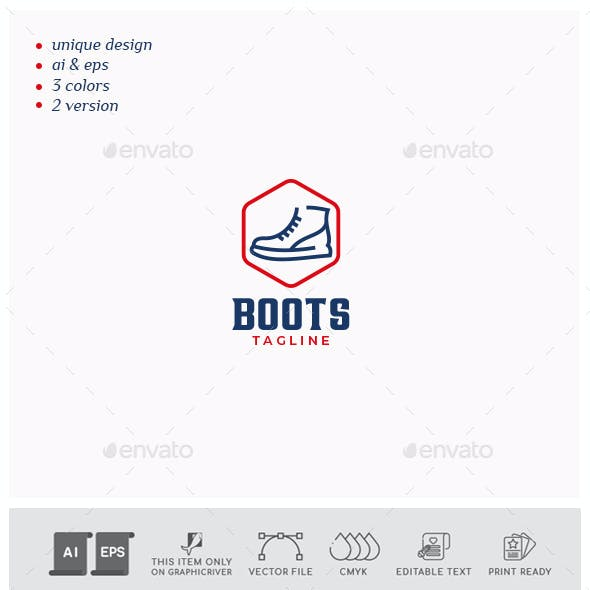 Boots Logo Design