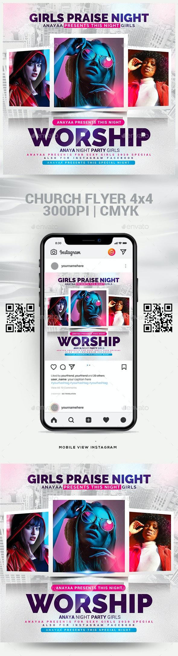 Church Flyer Template - Church Flyers