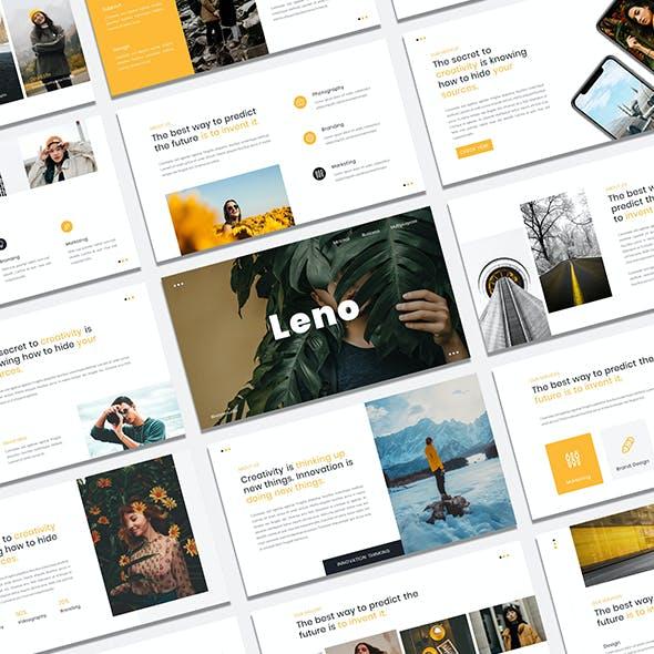 Leno - Minimal Business & Multipurpose PowerPoint Presentation Template