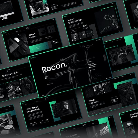Recon – Business Google Slides Template