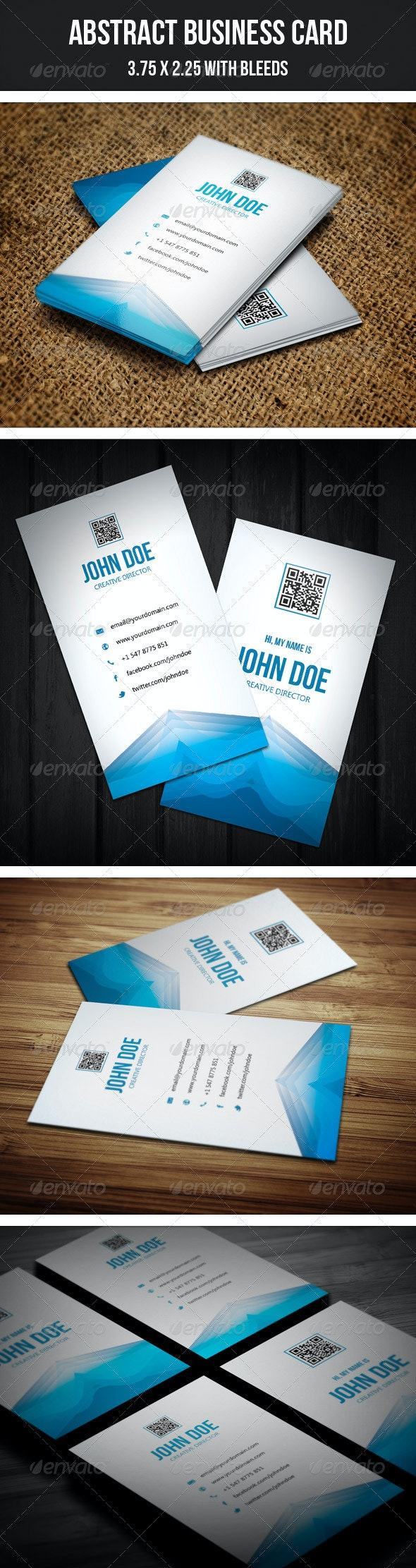 Abstact Creative Business Card - 28 - Creative Business Cards