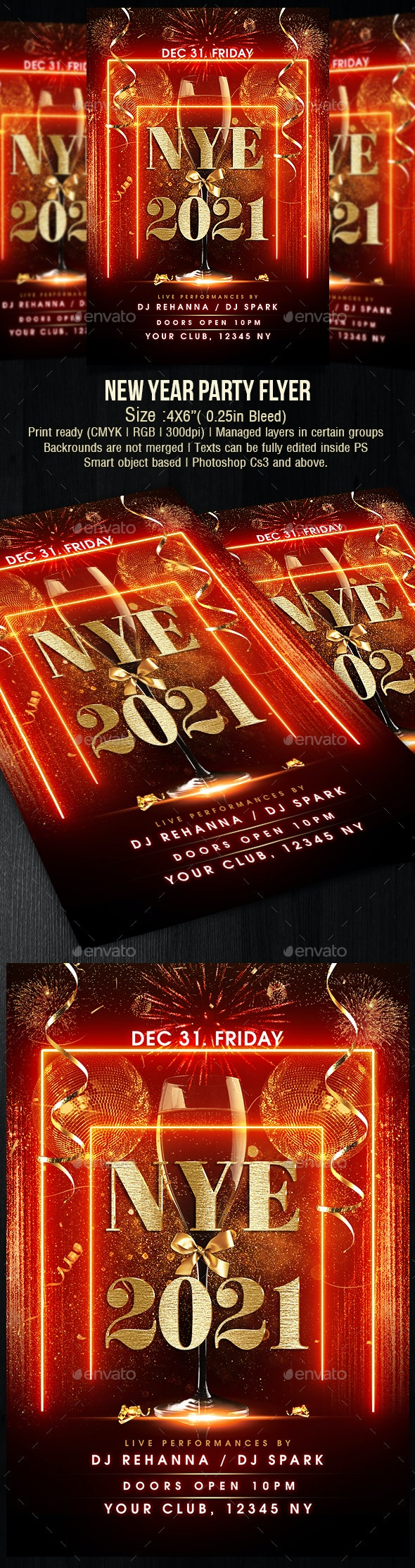 New Year Eve Party - Holidays Events