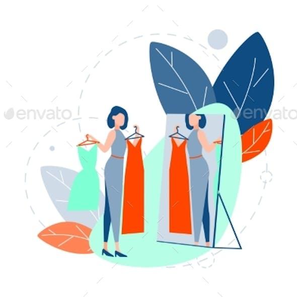 Choice Fashion Shopping Concept