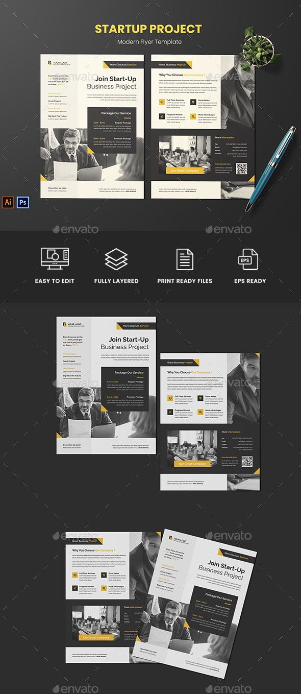 Start Up Project Flyer - Corporate Flyers