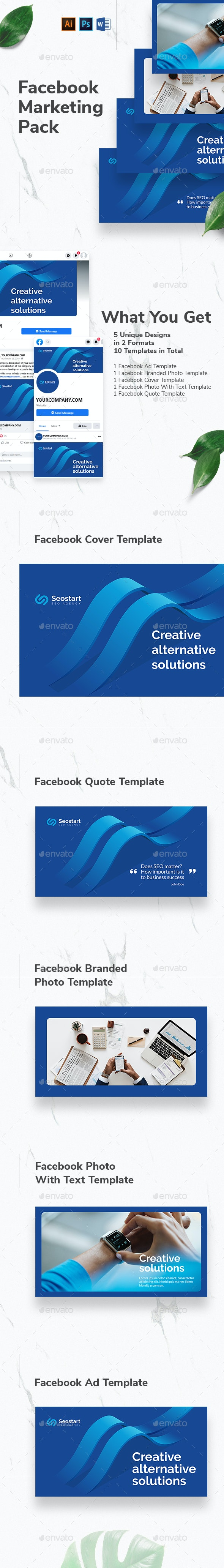 SEO Agency Facebook Marketing Materials - Facebook Timeline Covers Social Media