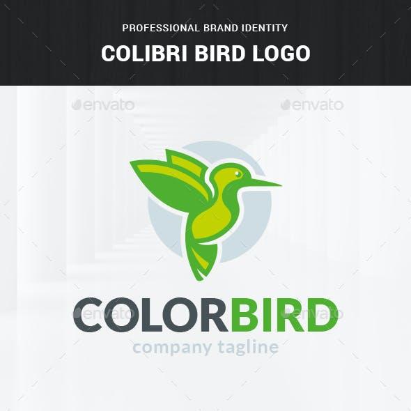 Colibri Bird Logo Template