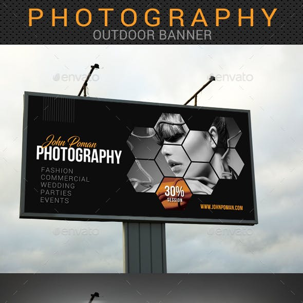 Photography Outdoor Banner 03
