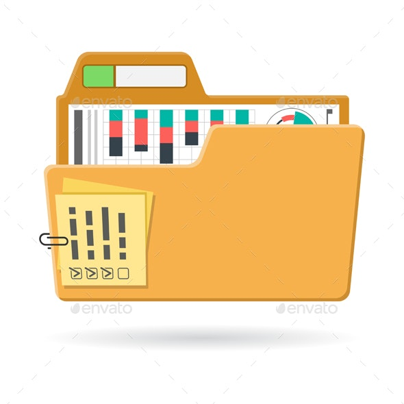 Open Folder Icon - Concepts Business
