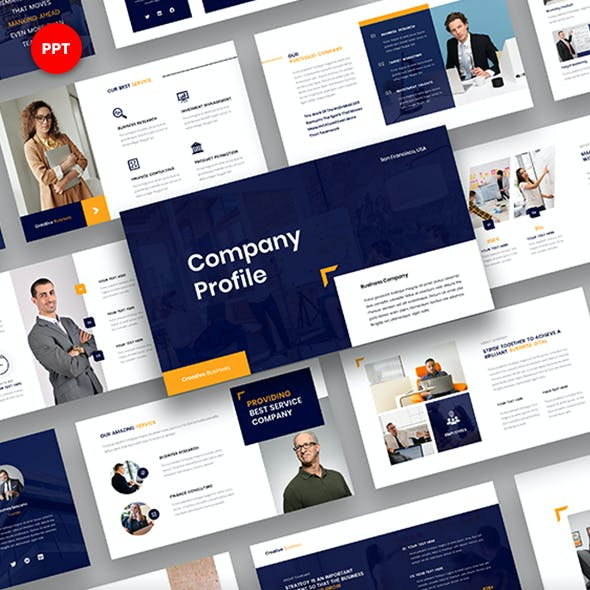 Company Profile – Business Corporate PowerPoint Template