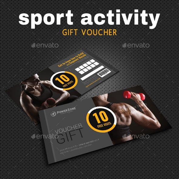 Sport Activity Gift Voucher 08