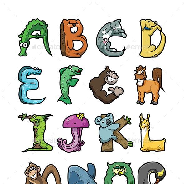 Animal Alphabet Bundle