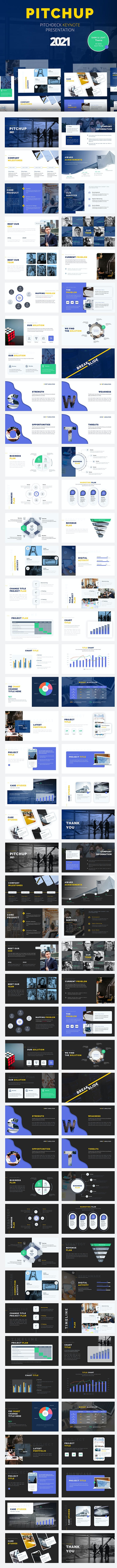 Pitchup – Pitch Deck Keynote Template - Pitch Deck PowerPoint Templates