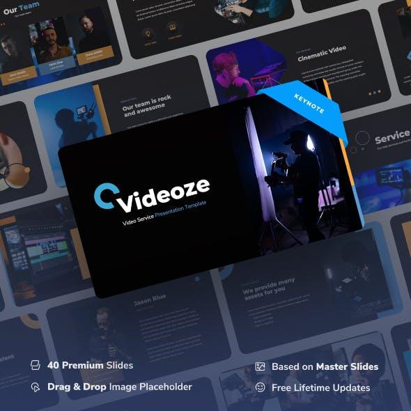 Videoze - Video Service Keynote Presentation