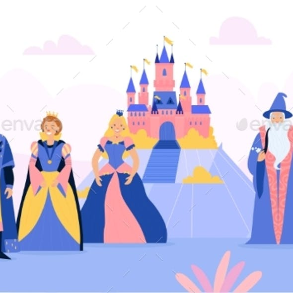 Kingdom With Fairy Tale Characters
