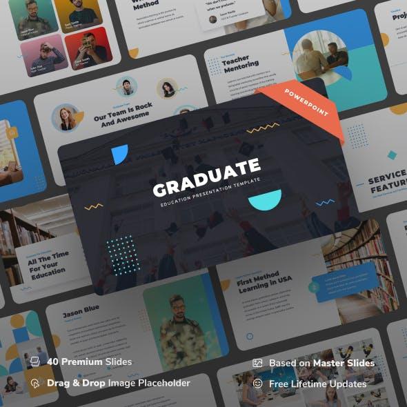 Graduate - Education Power Point Presentation