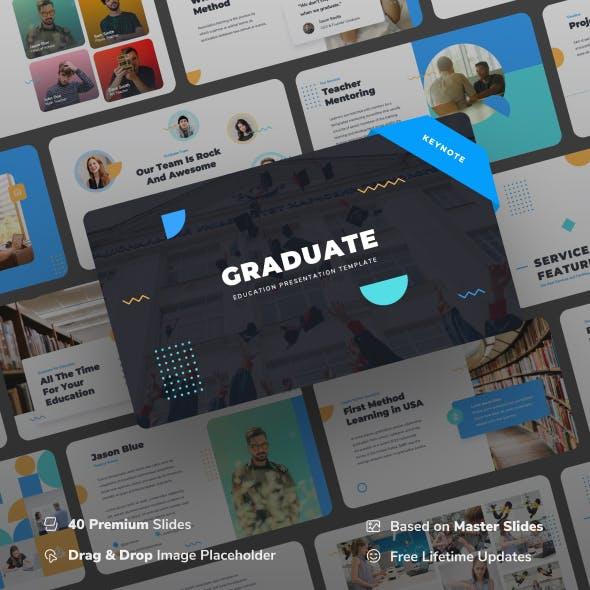 Graduate - Education Keynote Presentation