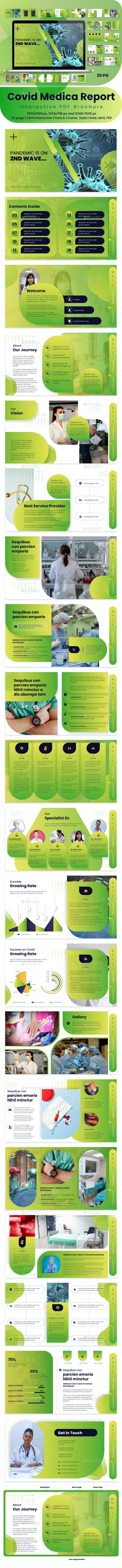 Interactive PDF Medical Report - Digital Books ePublishing