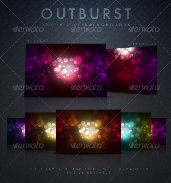 Outburst Backgrounds - Backgrounds Graphics