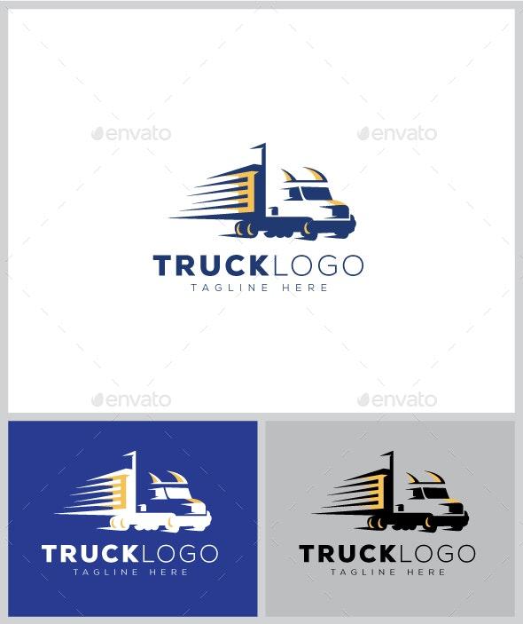 Truck Logo - Objects Logo Templates