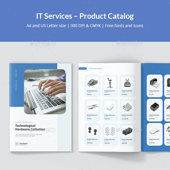 IT Services – Product Catalog
